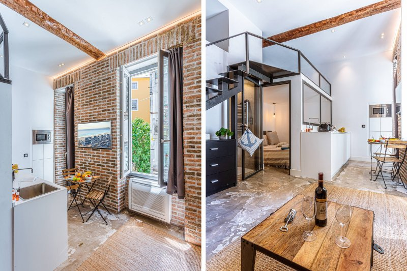 GARIBALDI M · Duplex tendance - Garibaldi - Balcon - A/C