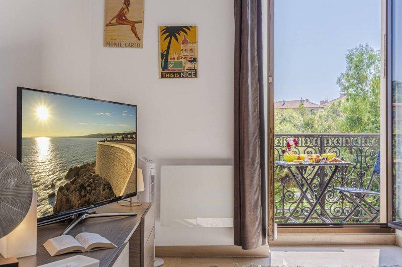 Felix Faure C - Balcon vue Coulée Verte - Plein cœur de Nice